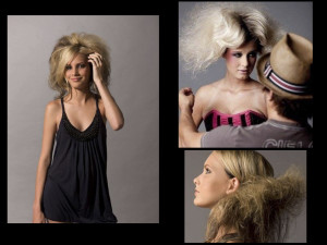 9Industry Icon project by Chaele Redding for Aveda Academy